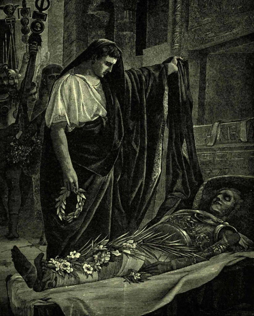 Augusto onora il Soma