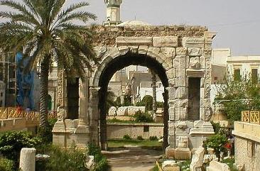 Arco di Marco Aurelio a Tripoli