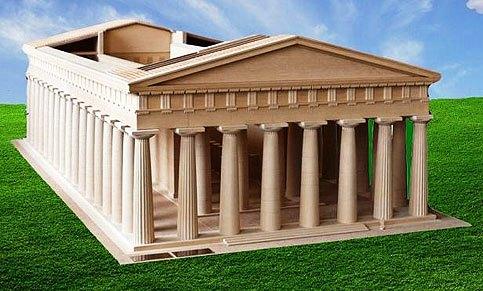 Il Tempio G di Selinunte, ipotesi ricostruttiva