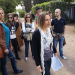 L'archeologa Marina Simeone accompagna i sodali del MTR in visita ai Fori