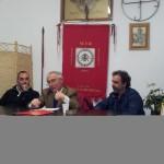 Il filosofo Giandomenico Casalino tra Pietro Rosetti del MTR (a destra) e Gabriele Pezzano di Fons Perennis