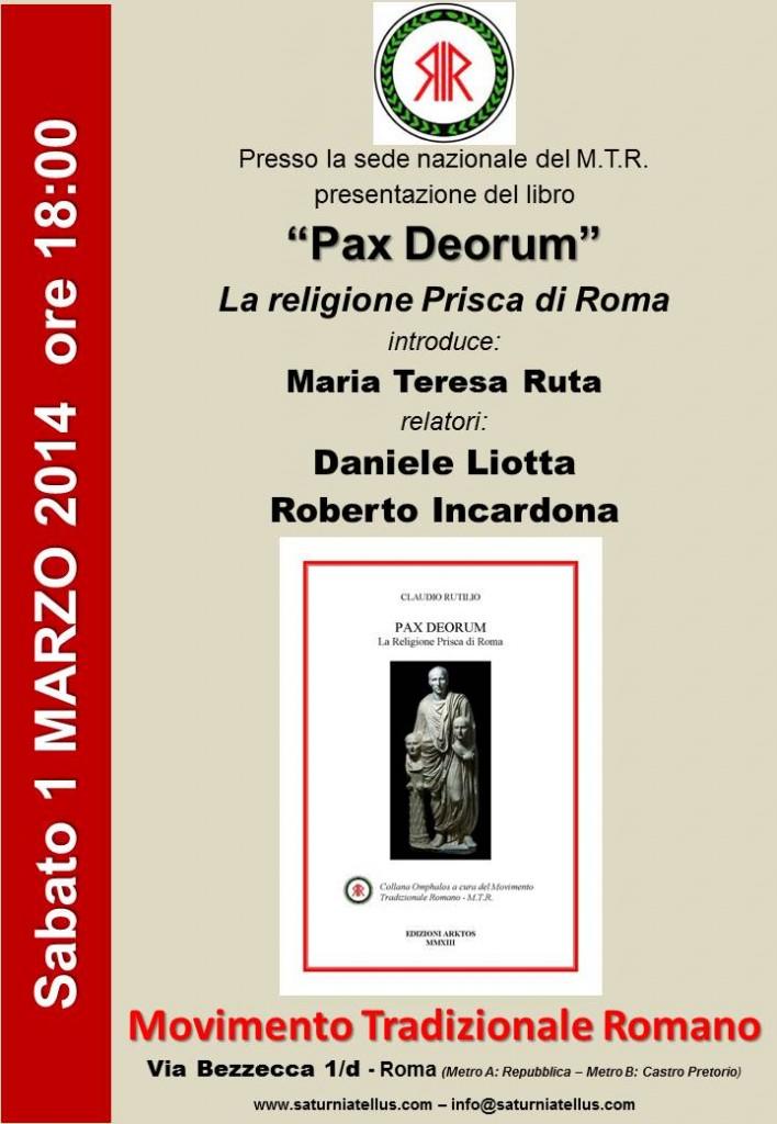 Pax Deorumbis