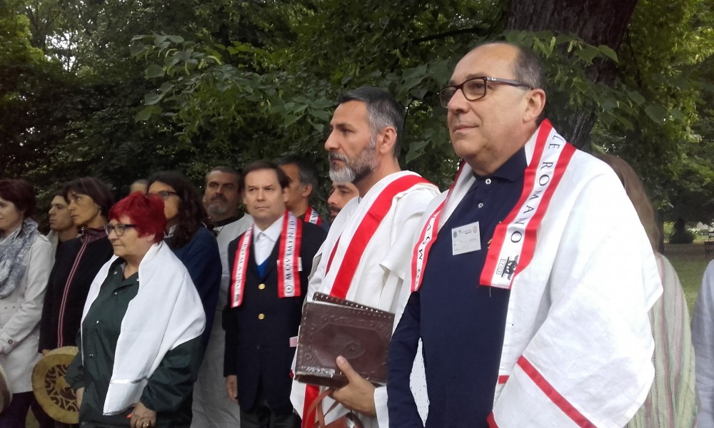Il gruppo del MTR alla cerimonia di Vyšehrad