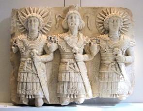 Il bassorilievo del tempio di Baal Shamin