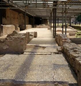 La Domus dei Ritratti a Santa Croce in Gerusalemme