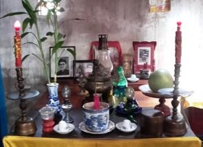 Altare degli Antenati in una casa privata di Hoi An