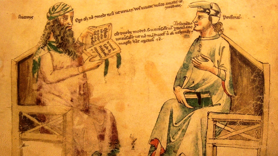 Dialogo immaginario tra Averroè e Porfirio