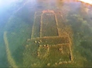La basilica sommersa del lago di Nicea