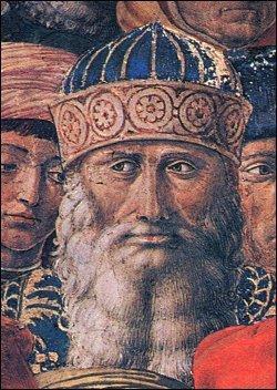 Gemisto Pletone di Benozzo Gozzoli
