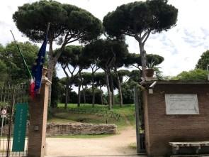 Ingresso Parco dei Porti imperiali
