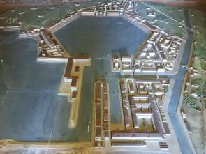 Plastico del porto di Traiano realizzato da Italo Gismondi. Museo della via Ostiense, Roma