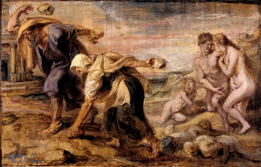 Peter Paul Rubens, Deucalion and Pyrrha, 1636