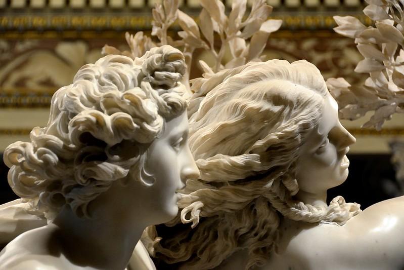 Apollo e Dafne del Bernini, Galleria Borghese, roma