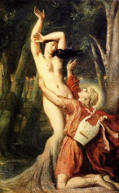 Apollo e Dafne, olio di Lukisan Minyak