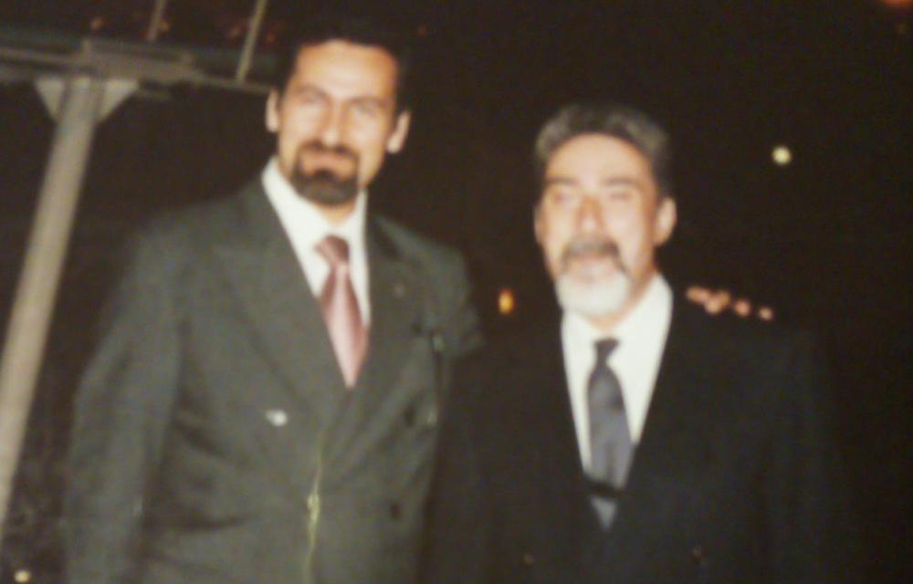 Da sinistra Daniele Liotta e Incardona