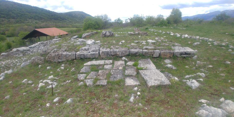 L'area del tempio di Iuppiter Fagutalis a Canzano (AQ)