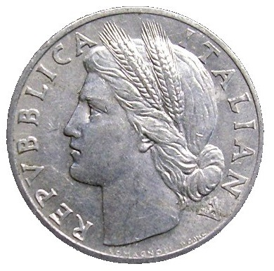 1 Lira Cerere