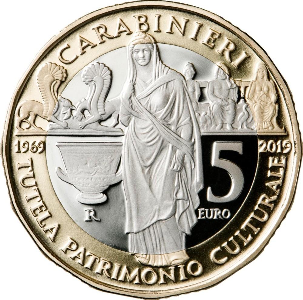 5 Euro Triade Capitolina