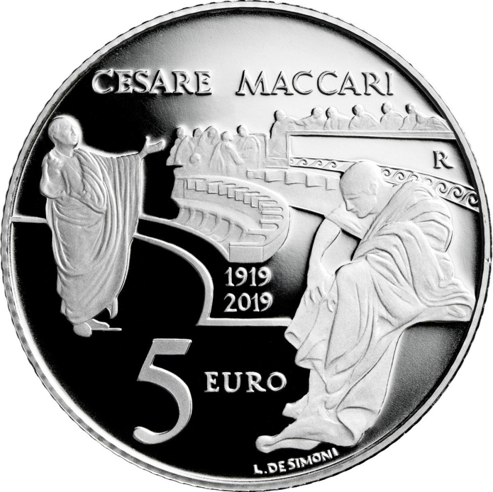 5 Euro Senato Cicerone