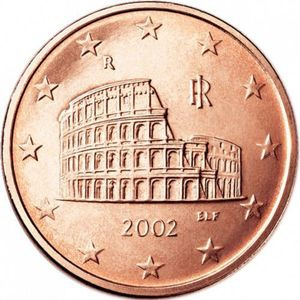 5 Eurocent Colosseo