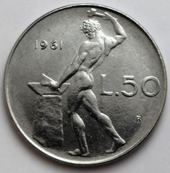 50 Lire Vulcano