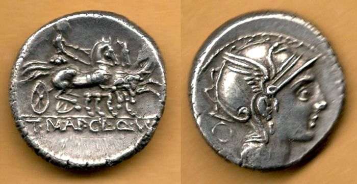 Denario del 111 a.e.v.