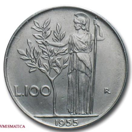 100 Lire Minerva