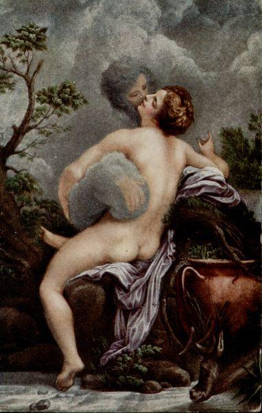 Correggio, Zeus e Io, 1532, Museo del Louvre (Parigi).
