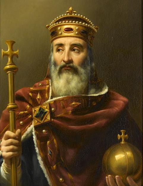 Louis-Félix Amiel, Charlemagne empereur_d'Occident_(742-814)