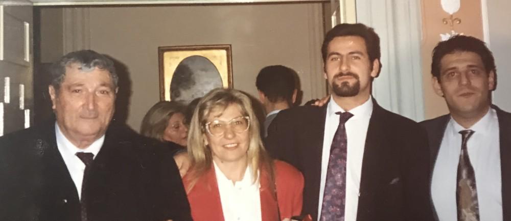 Salvatore Ruta, Anna Lucarelli, Daniele Liotta e Fulvio di Noia