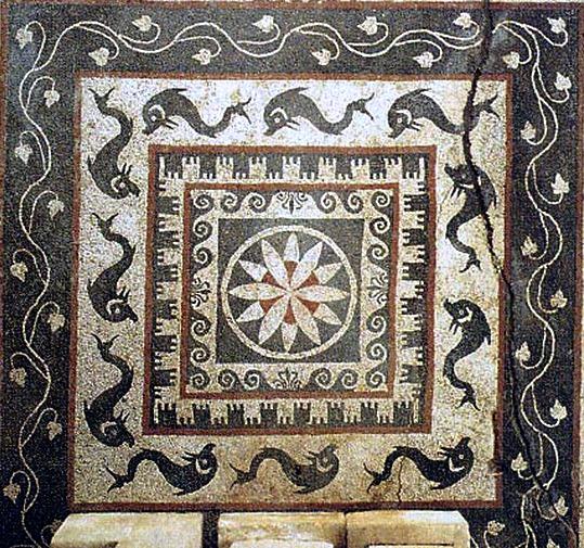 Mosaico del sacello di Ercole Curino