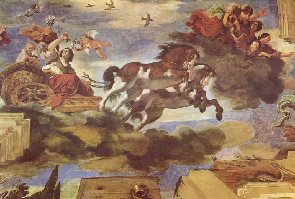 Aurora del Guercino, 1621