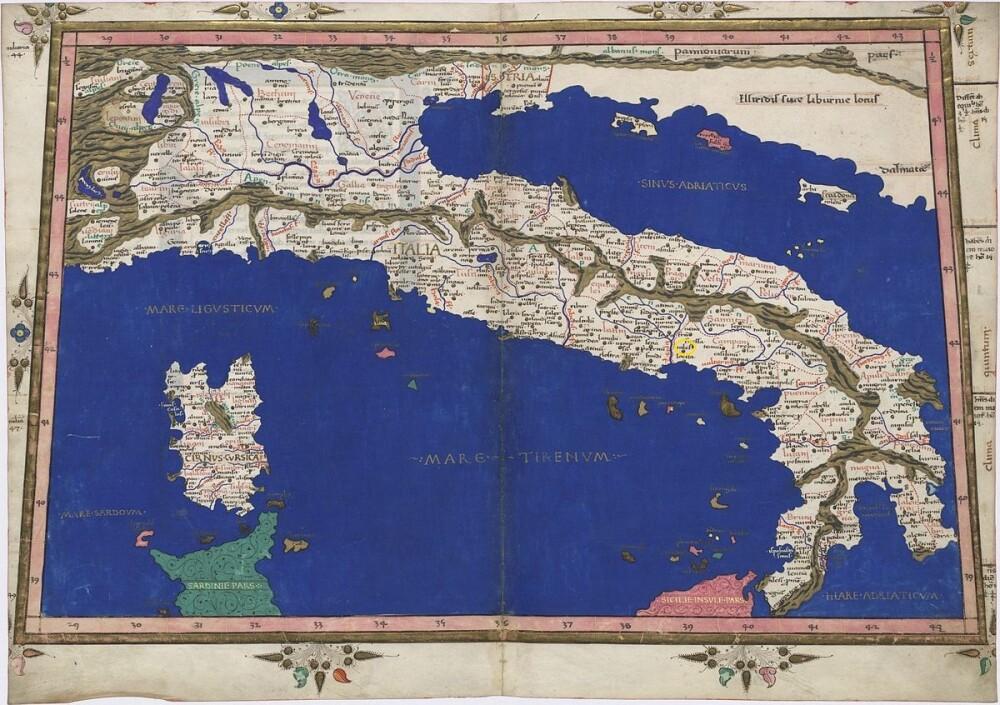 L'Italia di Tolomeo