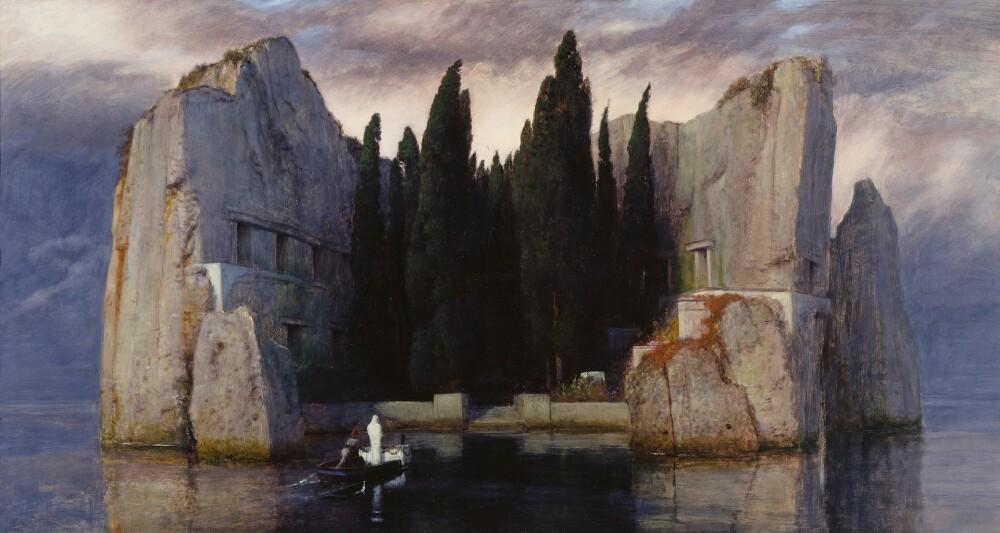 Arnold-Böcklin-L'isola-dei-morti-Terza-versione-Arte-Svelata