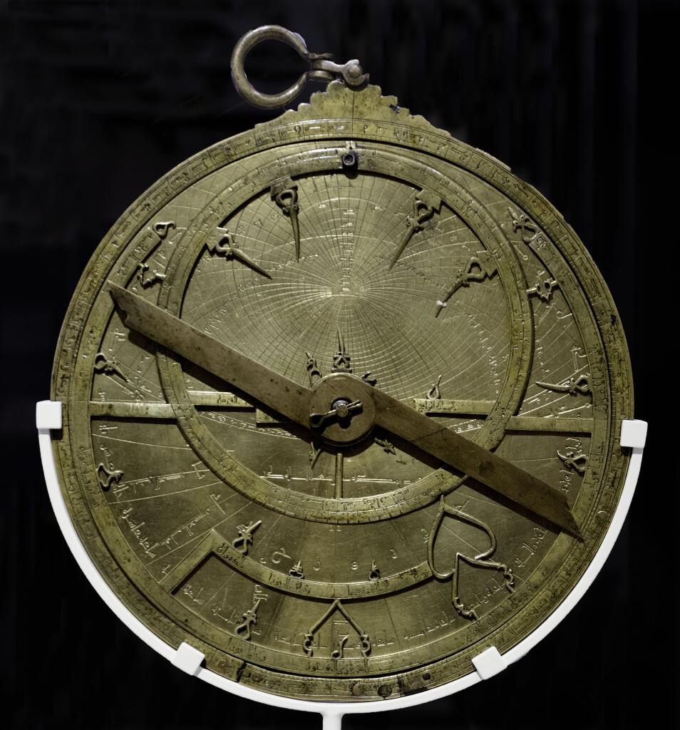 Astroabio simile a quello costruito da Ipazia