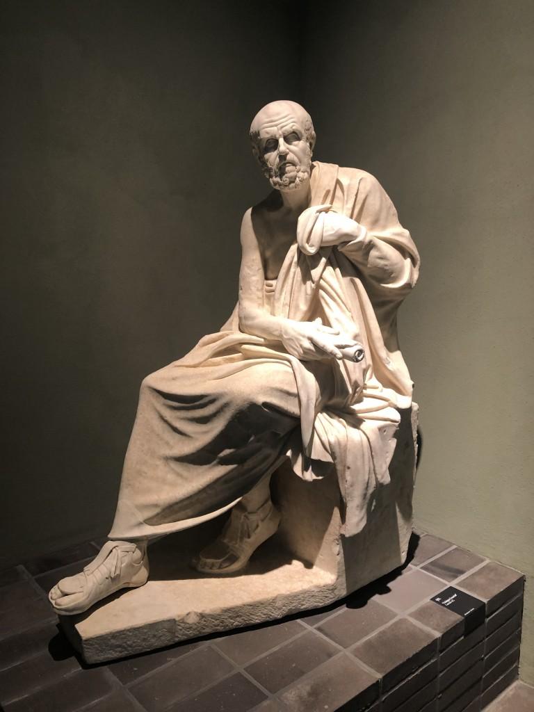 Statua di filosofo seduto detto Crisippo Cesarini