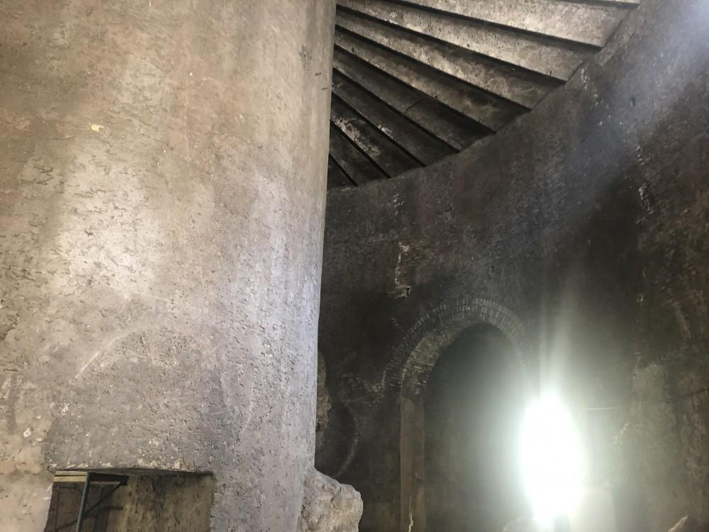 Il cilindro centrale, cuore del Mausoleo